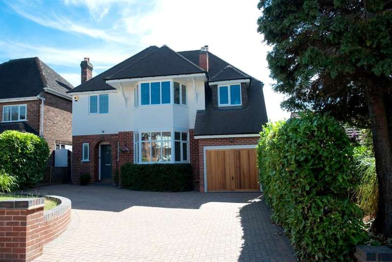 4 Bedrooms Detached House for sale in Bedford Road, Sutton Coldfield, B75 6AJ