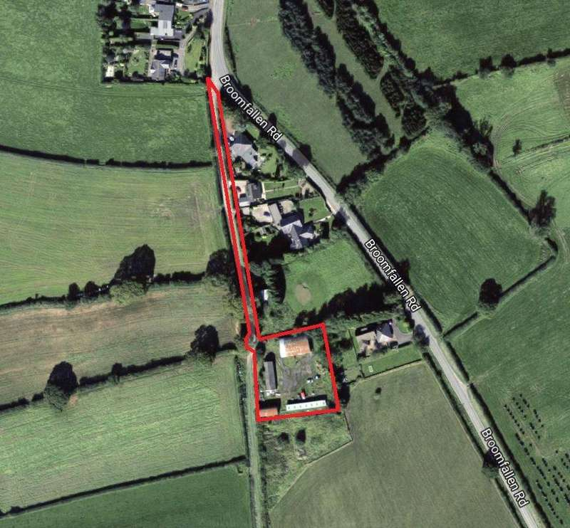 Land Commercial for sale in Land To The Rear Of Gladsmuir, Broomfallen Road, Scotby, Carlisle