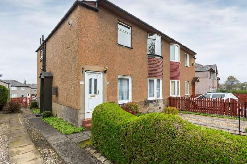 2 Bedrooms Flat for sale in 69 Thurston Road, Glasgow, G52 2JQ