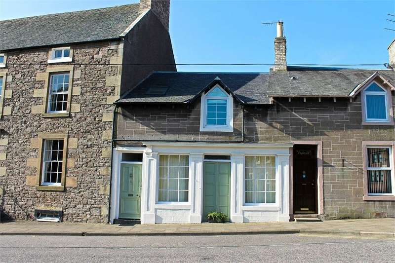 3 Bedrooms Terraced House for sale in 2 High Street, Ayton, Berwickshire