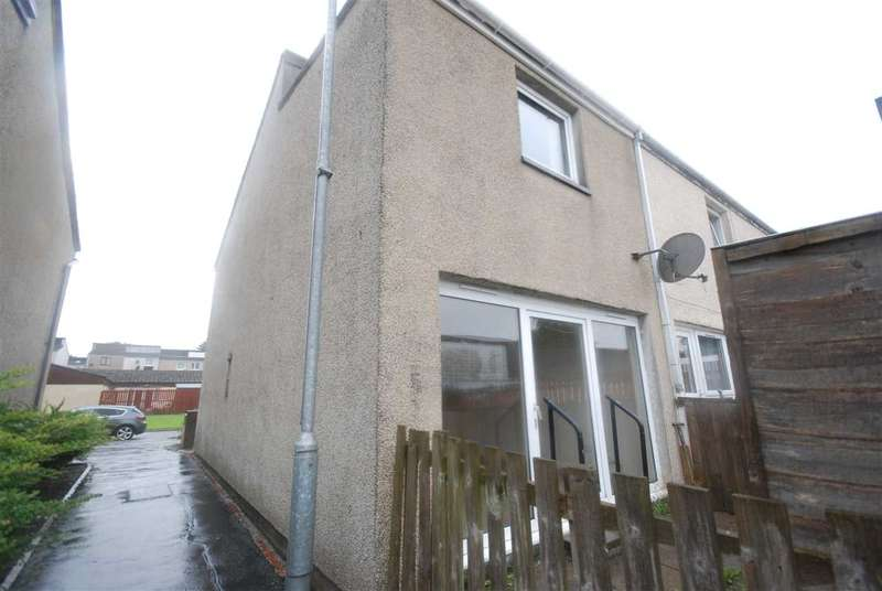 2 Bedrooms End Of Terrace House for sale in Cambusdoon Place, Kilwinning