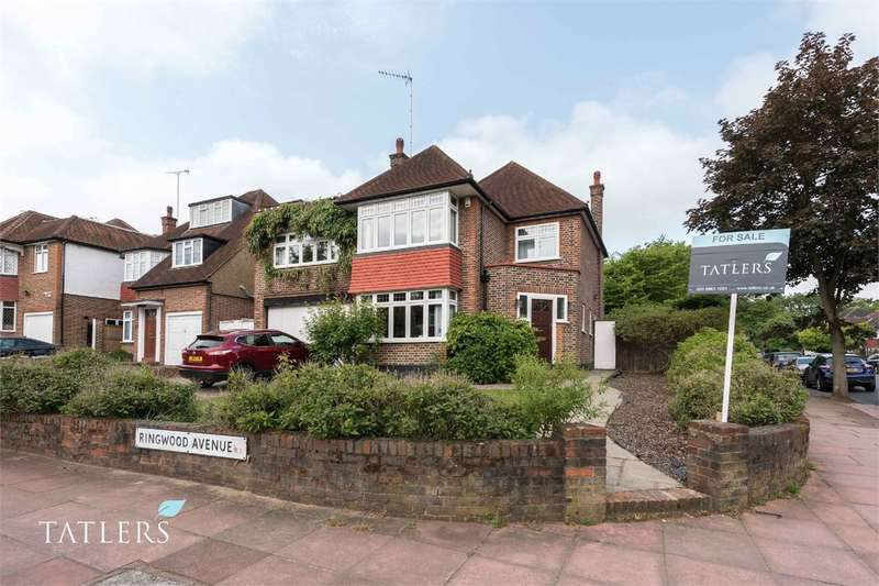 5 Bedrooms Detached House for sale in Ringwood Avenue, East Finchley, London