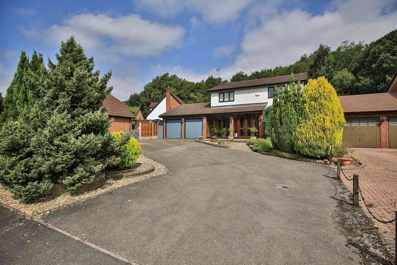 4 Bedrooms Detached House for sale in Springfield Lane, Rhiwderin, Newport