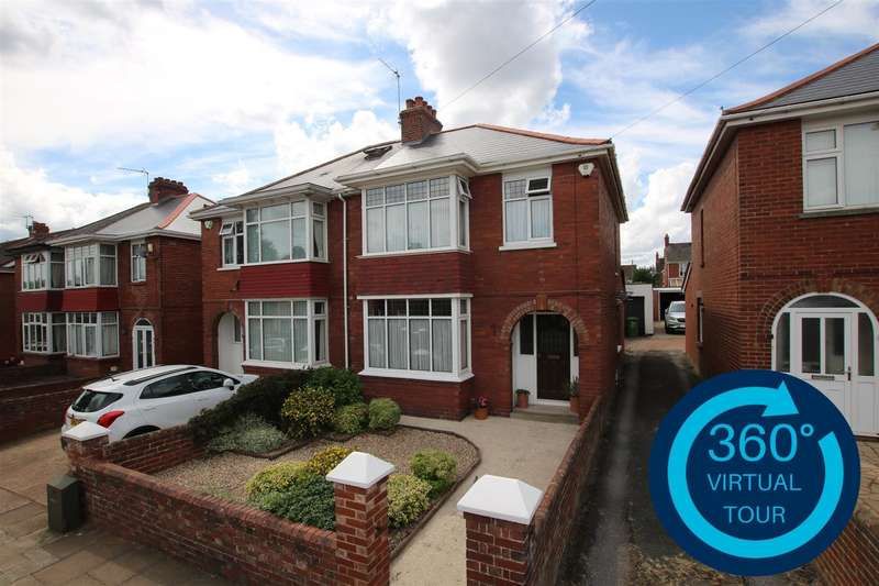 3 Bedrooms Semi Detached House for sale in Tarbet Avenue, Exeter