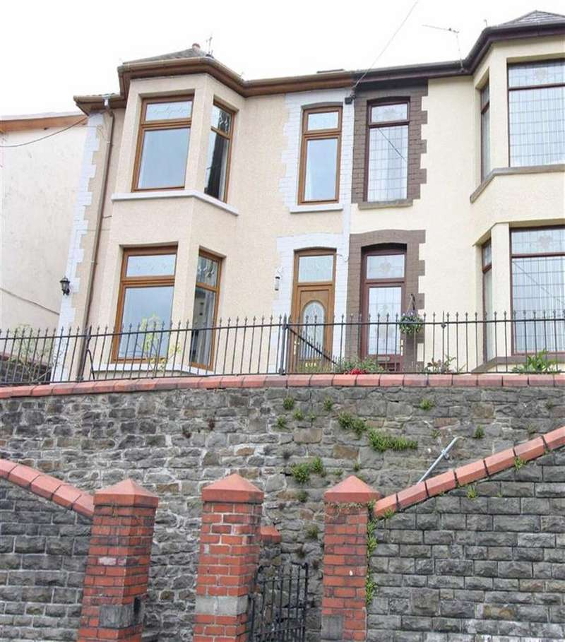 3 Bedrooms Semi Detached House for sale in Troed Y Rhiw Road, Caegarw, Mountain Ash