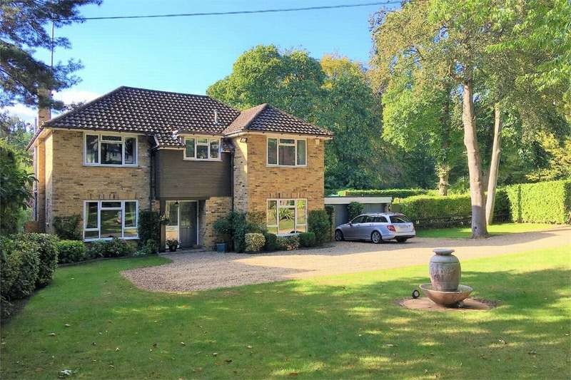 4 Bedrooms Detached House for sale in Knightsbridge Road, CAMBERLEY, Surrey