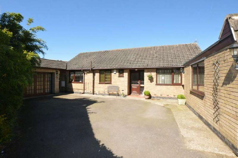 3 Bedrooms Detached Bungalow for sale in Forest Road, Huncote, Leicester