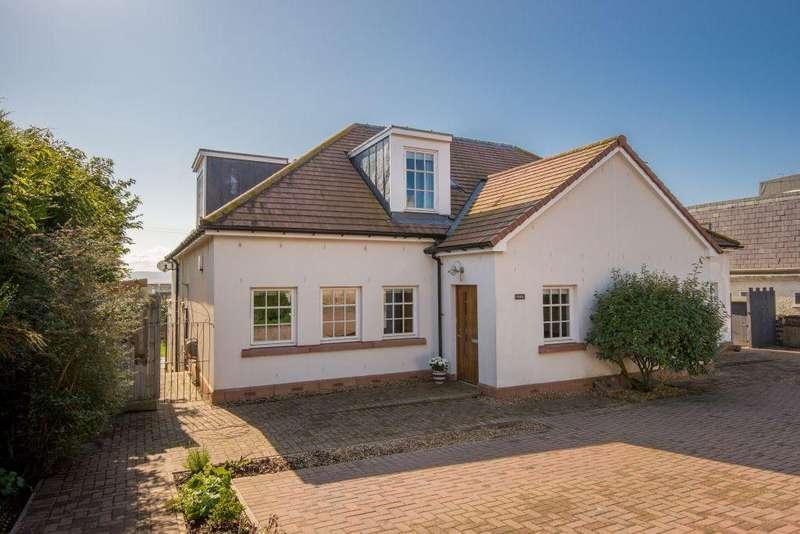 5 Bedrooms Semi Detached House for sale in Fidra, Main Street, Gullane, East Lothian, EH31 2HD