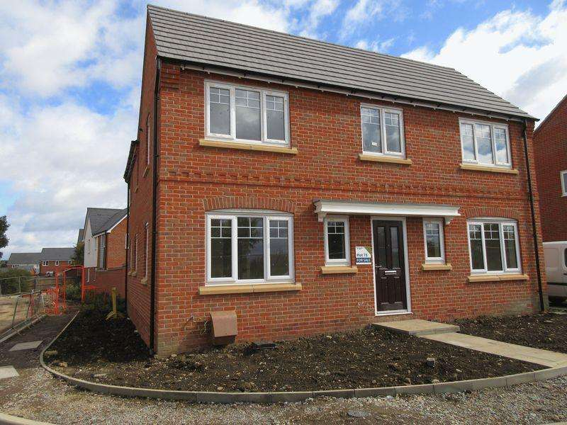 4 Bedrooms Detached House for sale in Plot 73, The Bradgate, Cave Crescent, Coalville