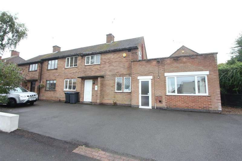 3 Bedrooms Semi Detached House for sale in Brookside, Burbage