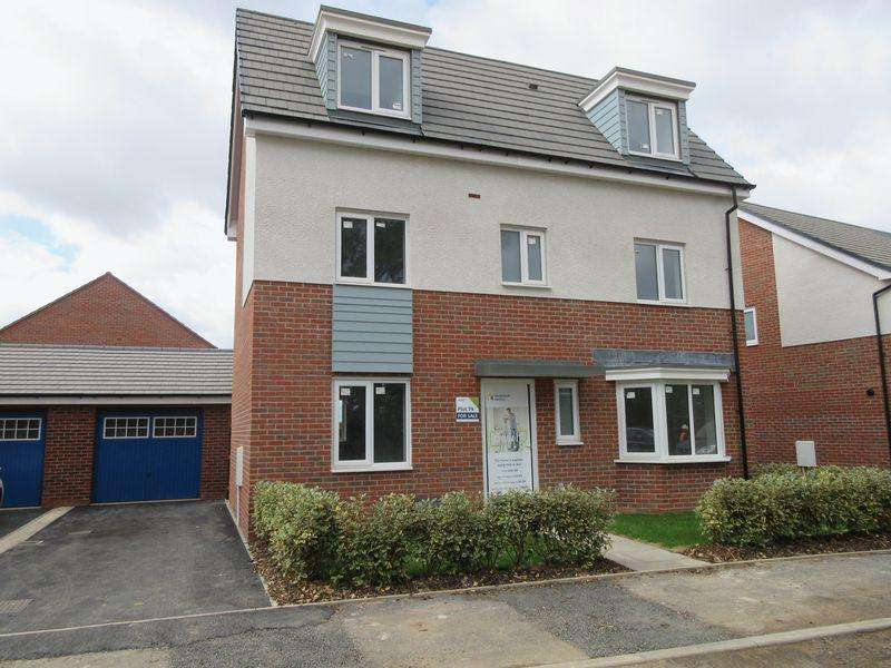 4 Bedrooms Detached House for sale in Plot 79, The Thornton, Cave Crescent, Coalville