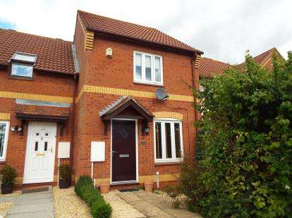 2 Bedrooms Terraced House for sale in Palmers Leaze, Bradley Stoke, Bristol, Gloucestershire