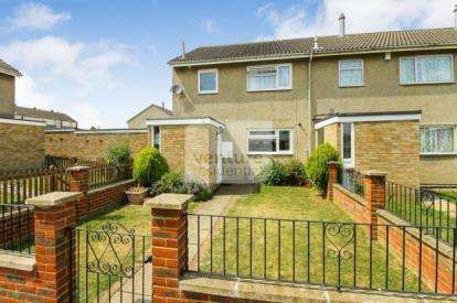 4 Bedrooms End Of Terrace House for sale in Sherd Close, Luton, Bedfordshire