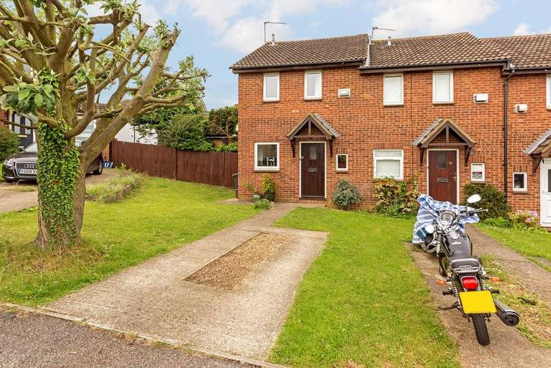2 Bedrooms End Of Terrace House for sale in Byron Close, Hitchin, SG4