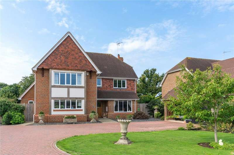 4 Bedrooms Detached House for sale in Placketts Corner, Arlington, East Sussex, BN26