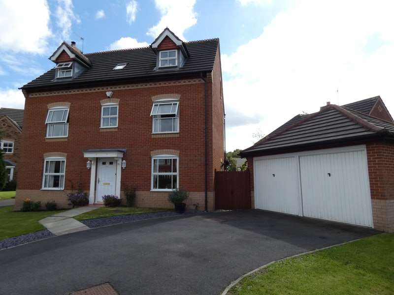 5 Bedrooms Detached House for sale in Chesterton Drive, Warrington, Cheshire, WA2