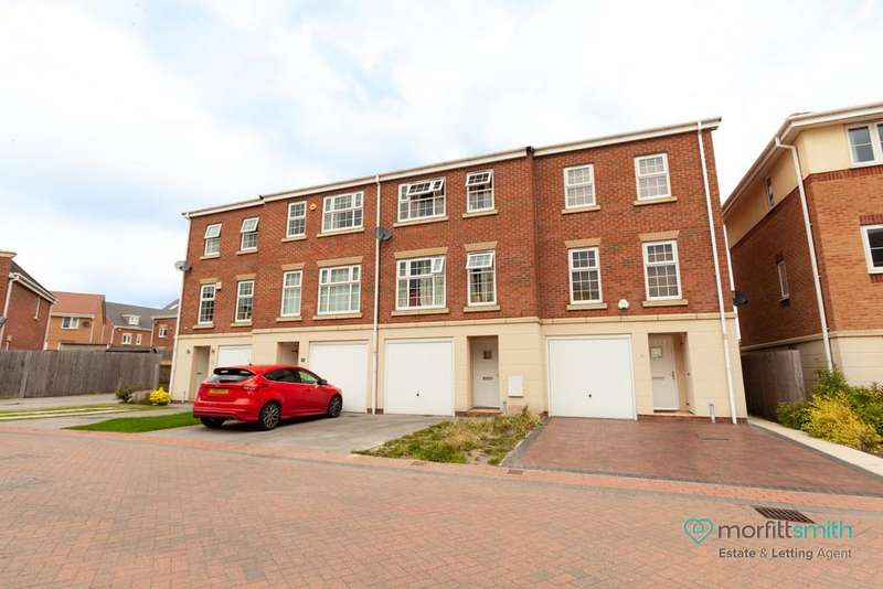 3 Bedrooms Town House for sale in Doveholes Drive, Handsworth, S13 9DR