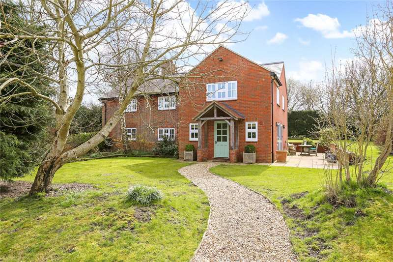4 Bedrooms Detached House for sale in Clatford, Marlborough, Wiltshire, SN8