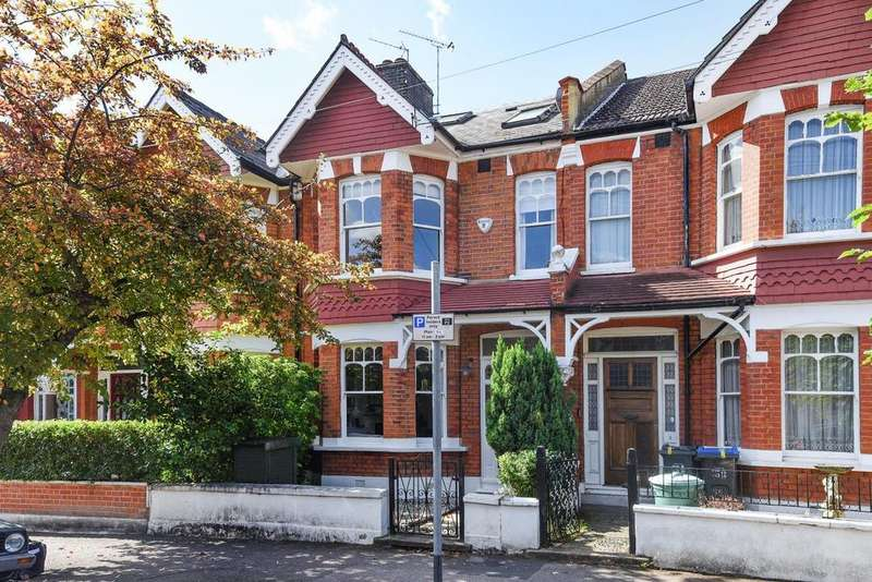 4 Bedrooms Terraced House for sale in Braemar Avenue, Southfields