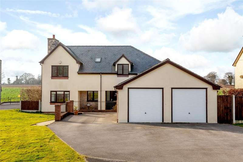 5 Bedrooms Detached House for sale in Cae Eithin, Lixwm, Flintshire