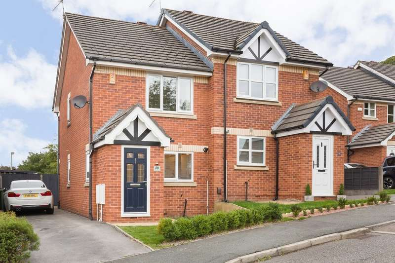2 Bedrooms Semi Detached House for sale in Briars Mount, Heaton Mersey