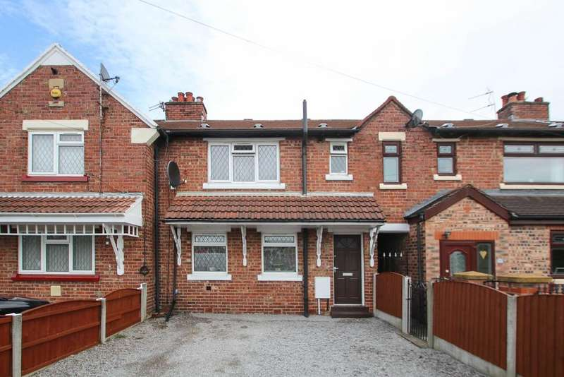 3 Bedrooms Terraced House for sale in Moss Lane, Partington, Manchester, M31