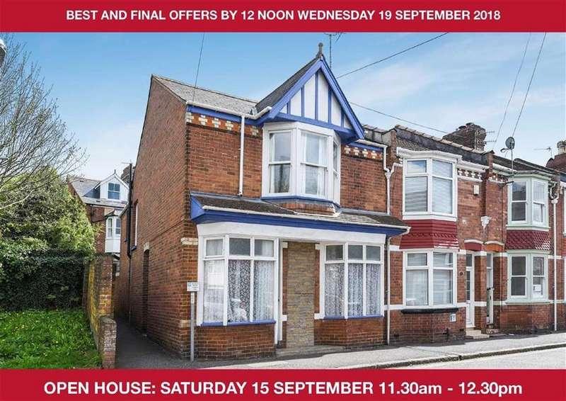 3 Bedrooms Semi Detached House for sale in Cedars Road, St Leonards, Exeter, Devon, EX2