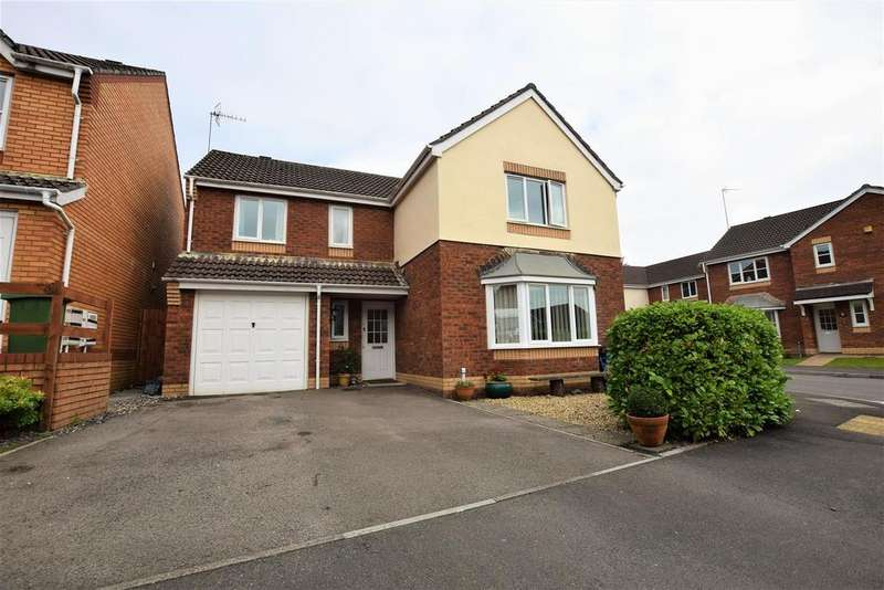 4 Bedrooms Detached House for sale in Rhodfa'r Orsaf, Church Village, Pontypridd, CF38 1BS
