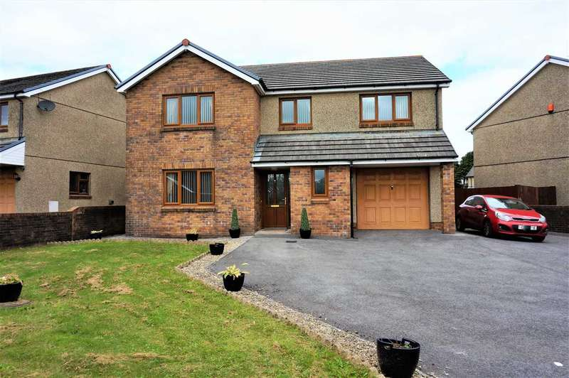 5 Bedrooms Detached House for sale in Waungoch, UPPER TUMBLE, Llanelli