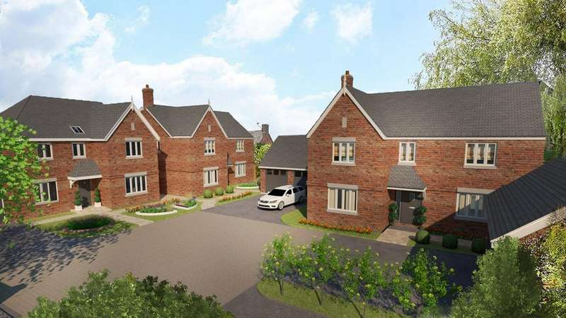 4 Bedrooms Detached House for sale in Dwyer Court, Syston, Leicestershire