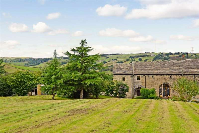 4 Bedrooms Semi Detached House for sale in Dean House Lane, Stainland