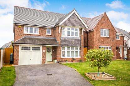4 Bedrooms Detached House for sale in Brindle Close, Buckley, Flintshire, ., CH7