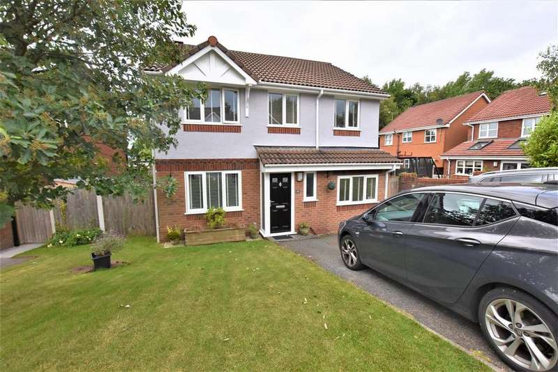 4 Bedrooms Detached House for sale in Rhuddlan Road, Buckley