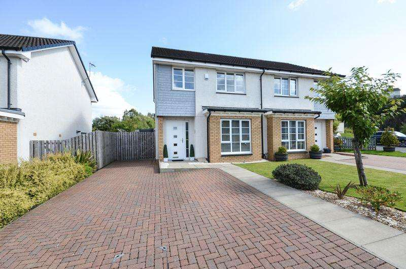 3 Bedrooms Semi Detached House for sale in Lochan Road, Kilsyth