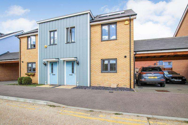 3 Bedrooms Semi Detached House for sale in Arcany Road, South Ockendon