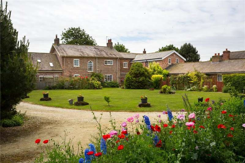 6 Bedrooms Equestrian Facility Character Property for sale in Common Farm, Southmoor Road, Thorganby, York, YO19