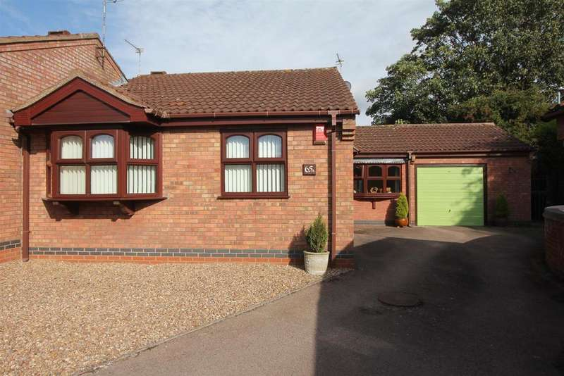 2 Bedrooms Semi Detached Bungalow for sale in Park Road, Earl Shilton