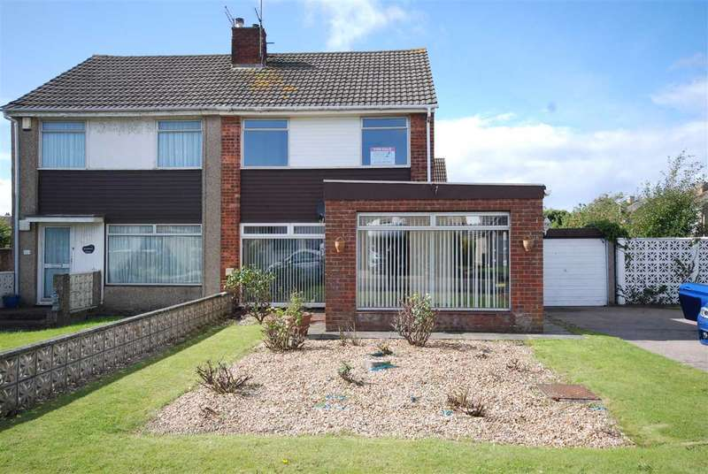 4 Bedrooms Semi Detached House for sale in Barony Court, Ardrossan