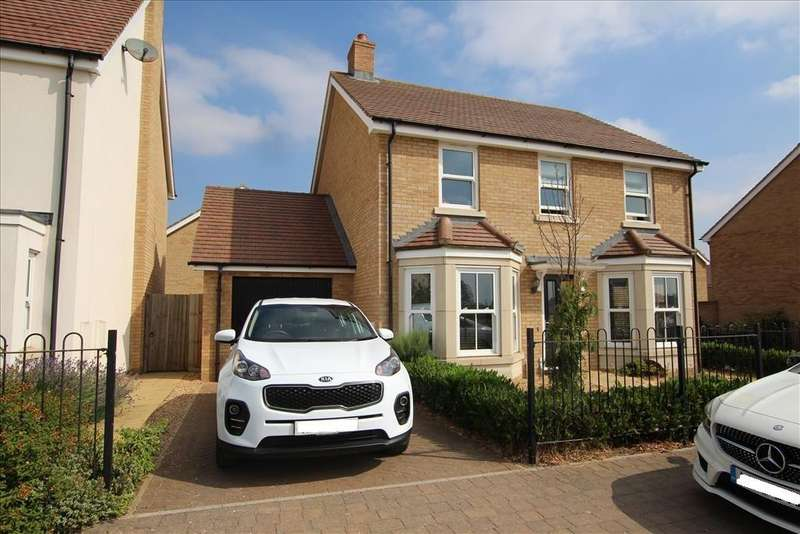 4 Bedrooms Detached House for sale in Mercury Lane, Biggleswade, SG18