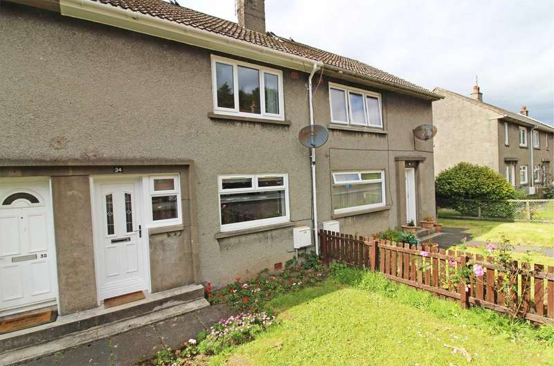 2 Bedrooms Terraced House for sale in 34 Keppenburn Avenue, Fairlie, LARGS, KA29 0BA