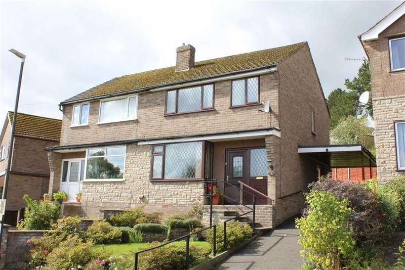 3 Bedrooms Semi Detached House for sale in Parkway, New Mills, High Peak, Derbyshire