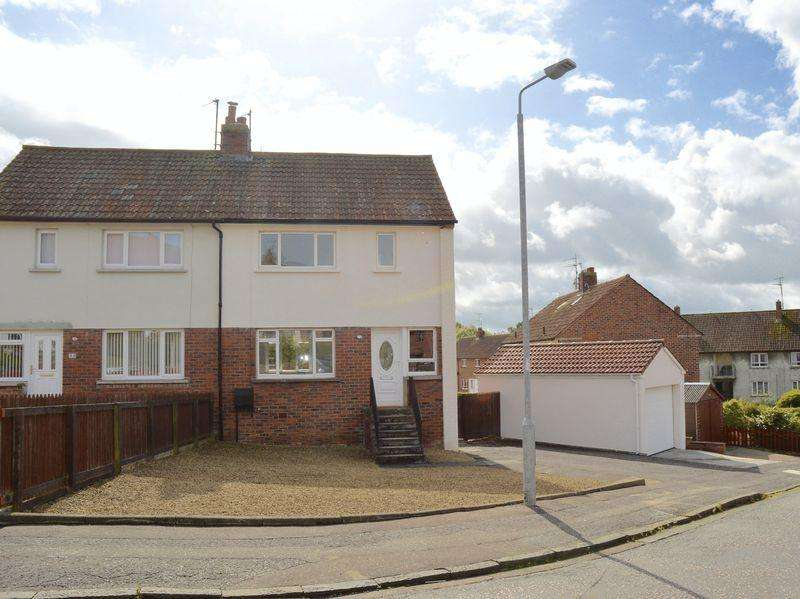 2 Bedrooms Semi-detached Villa House for sale in Fenwickland Place, Ayr