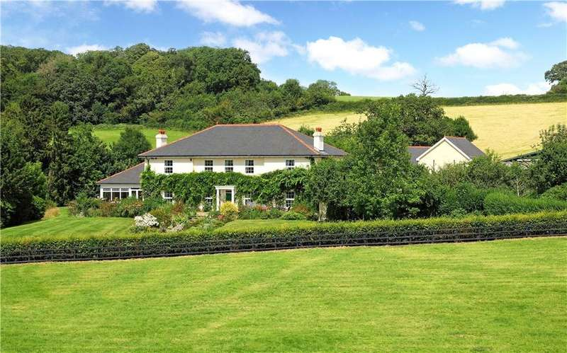 5 Bedrooms Farm House Character Property for sale in Llwyn Cecil Farm, Hardwick, Abergavenny, Monmouthshire, NP7