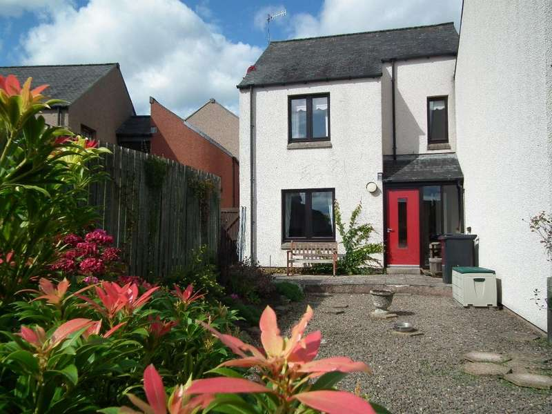 2 Bedrooms Terraced House for sale in 6 Manse Gardens, Duns TD11 3EN