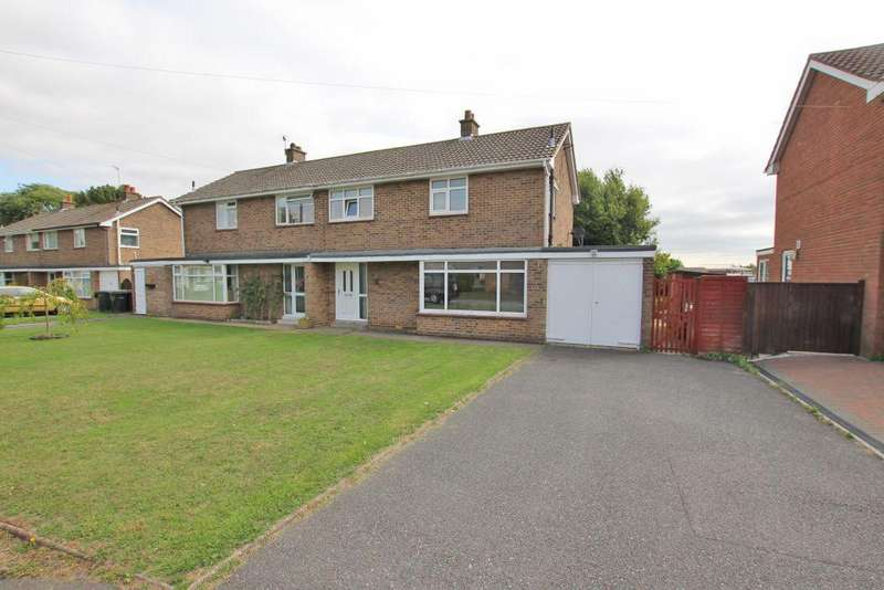 3 Bedrooms Semi Detached House for sale in HAREWOOD CRESCENT, LOUTH