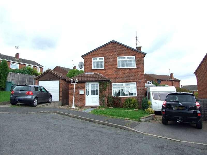 3 Bedrooms Detached House for sale in Cherry Close, South Normanton, Alfreton, Derbyshire, DE55