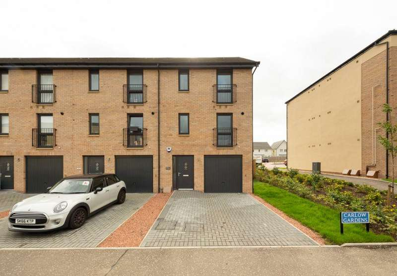 3 Bedrooms End Of Terrace House for sale in 7 Carlow Gardens, South Queensferry, EH30 9AN