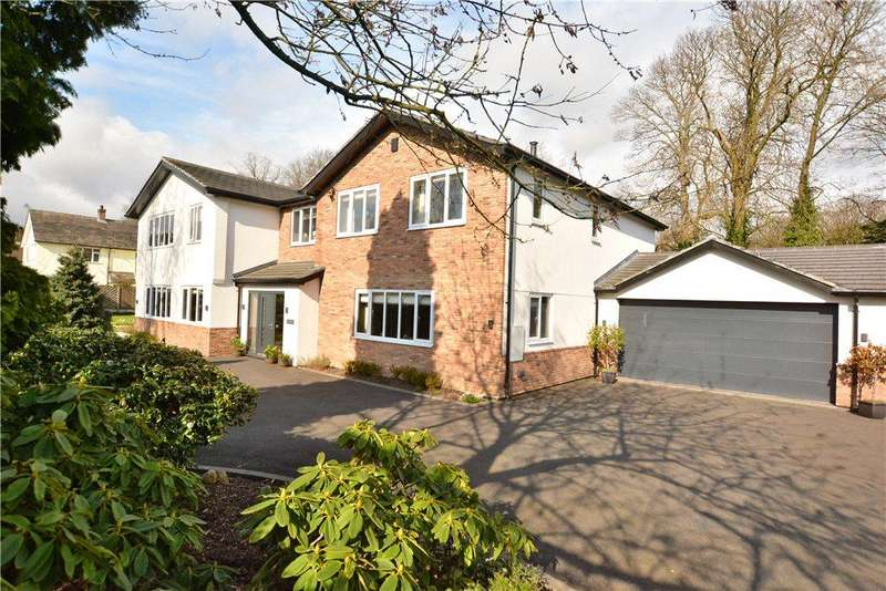 5 Bedrooms Detached House for sale in Tresanton, Foxhill Drive, Weetwood, Leeds