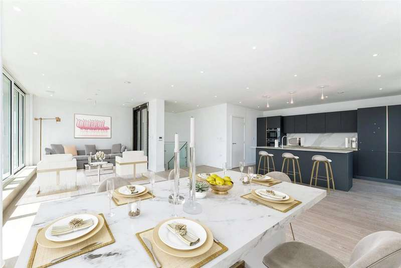 3 Bedrooms Penthouse Flat for sale in Kingly Building, Woodberry Down, London, N4