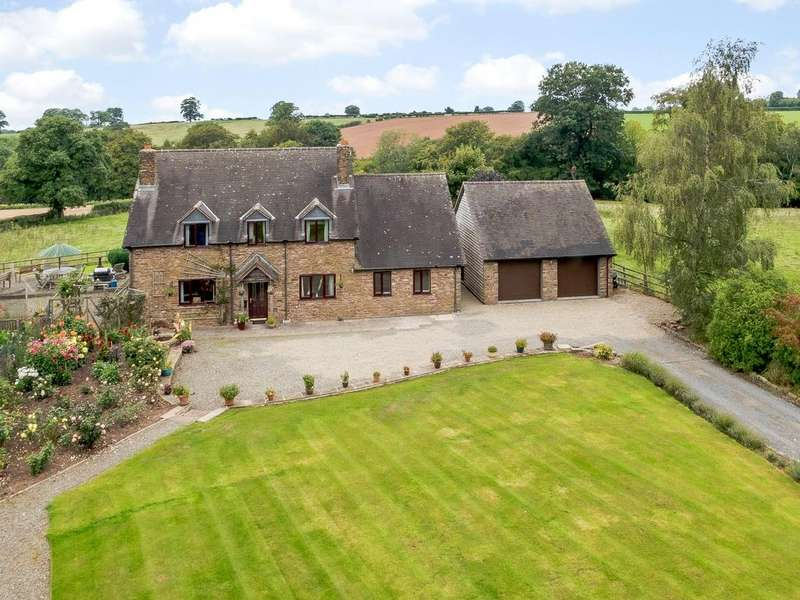 4 Bedrooms Detached House for sale in Haytons Bent, Ludlow, Shropshire